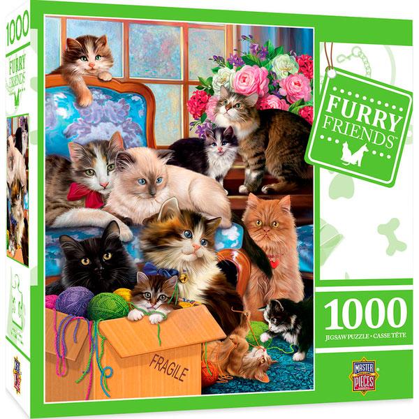 Puzzle MasterPieces Gatitos Traviesos de 1000 Piezas