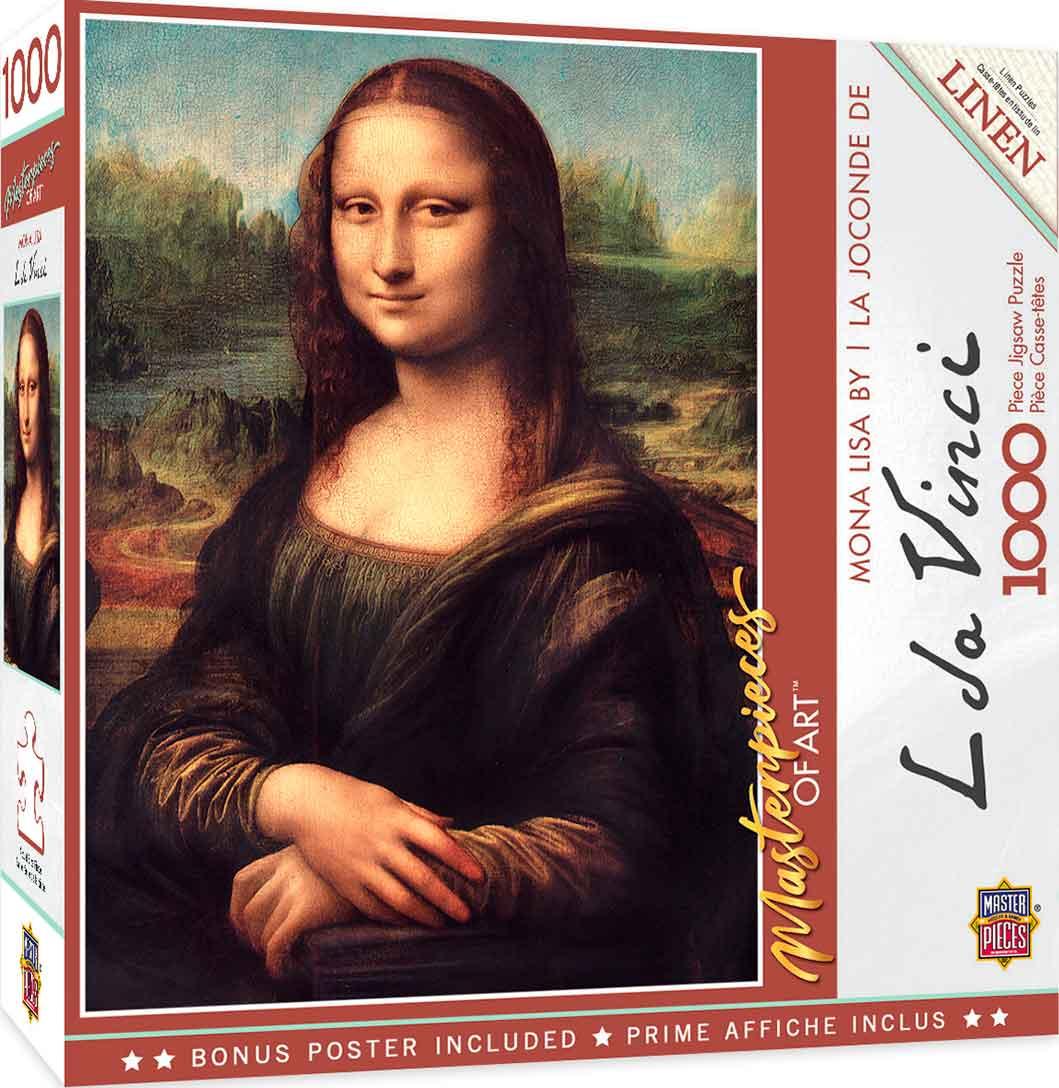 Puzzle MasterPieces Gioconda La Mona Lisa de 1000 Piezas