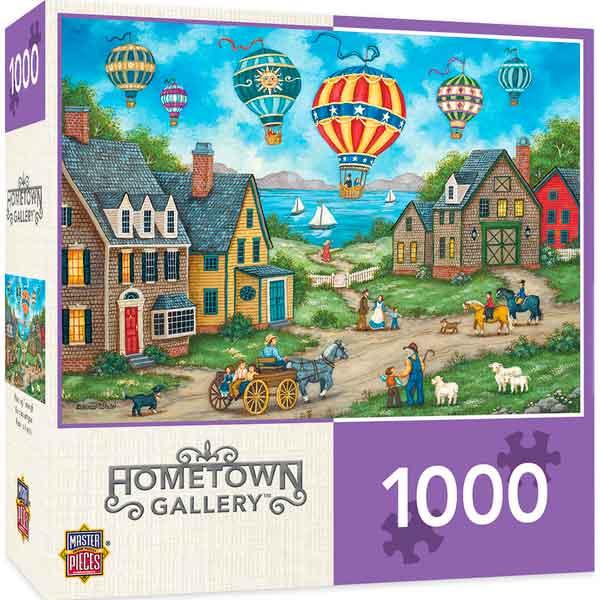 Puzzle MasterPieces Globos en el Cielo de 1000 Piezas