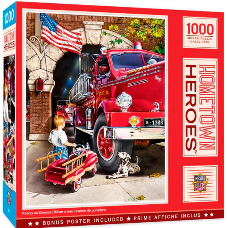 Puzzle MasterPieces Héroes de Ciudad de 1000 Piezas