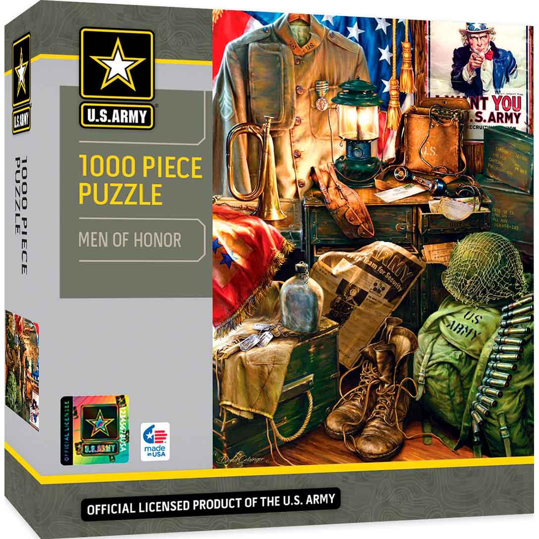Puzzle MasterPieces Hombres de Honor de 1000 Piezas