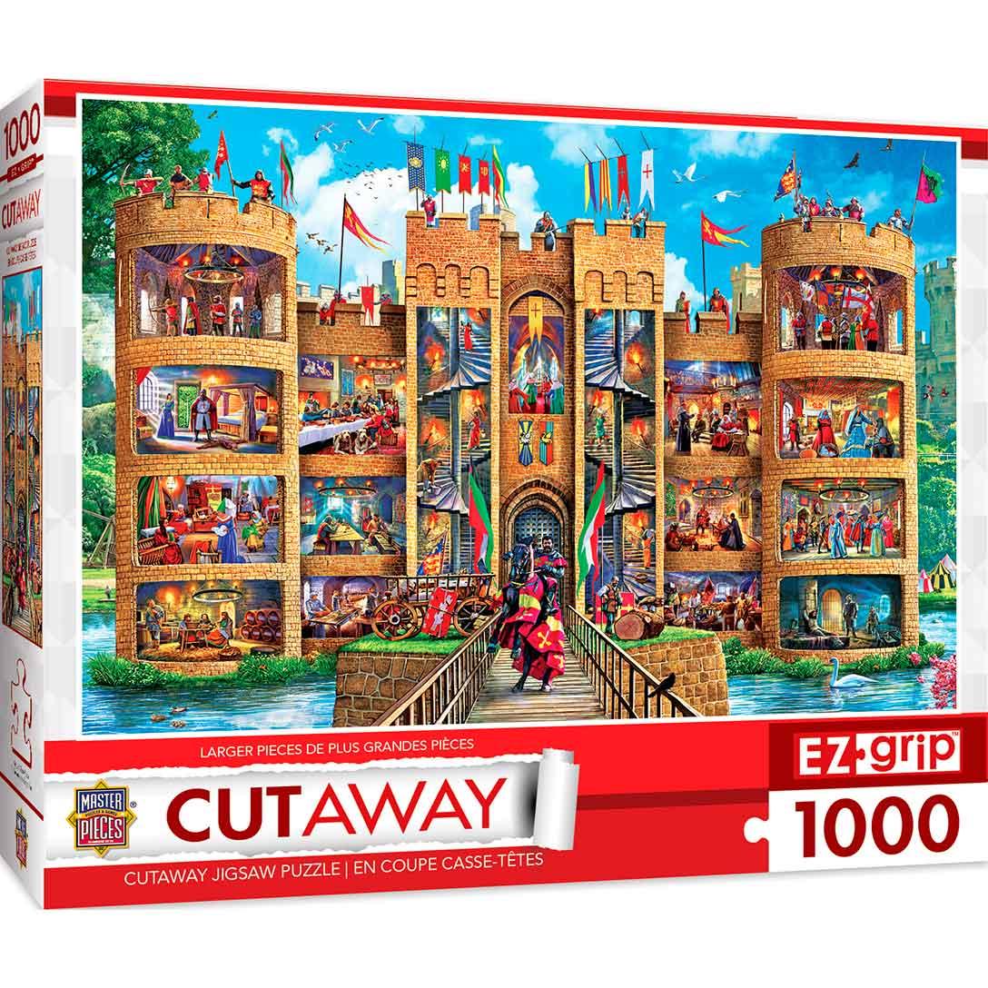 Puzzle MasterPieces Interior del Castillo XXL de 1000 Pzs