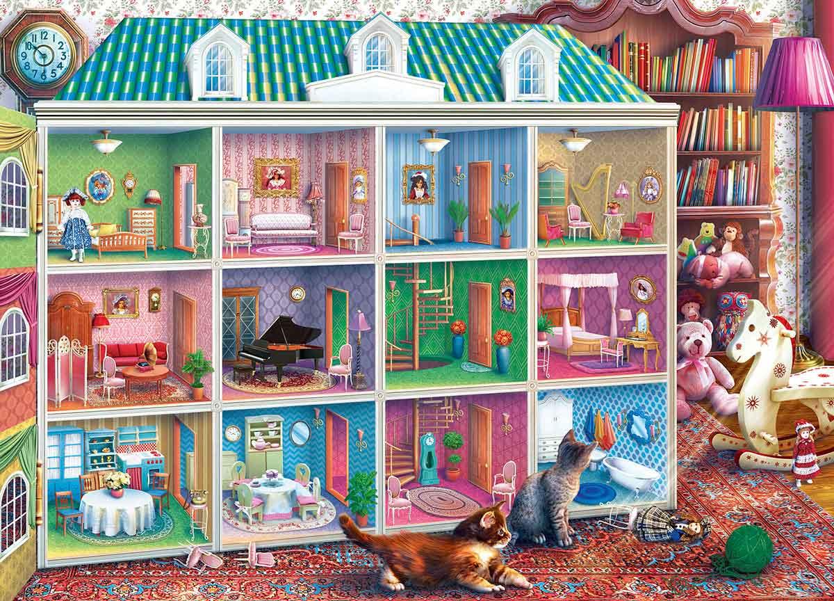 Puzzle MasterPieces La Casa de Muñecas de Sofía de 1000 Piezas