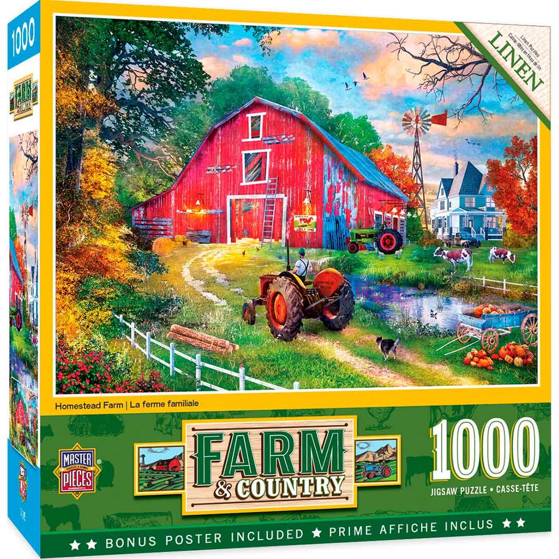 Puzzle MasterPieces La Granja de 1000 Piezas