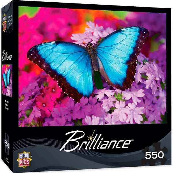 Puzzle MasterPieces La Mariposa Azul de 550 Piezas