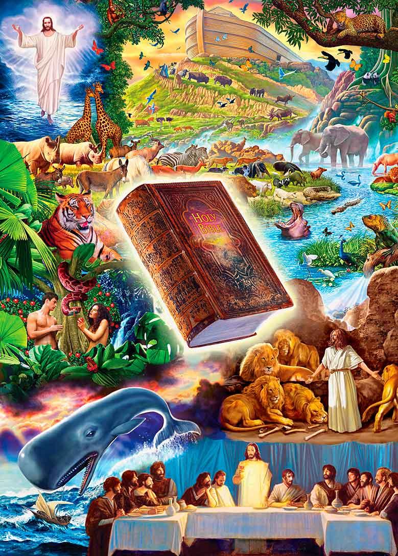 Puzzle MasterPieces La Santa Biblia de 1000 Piezas
