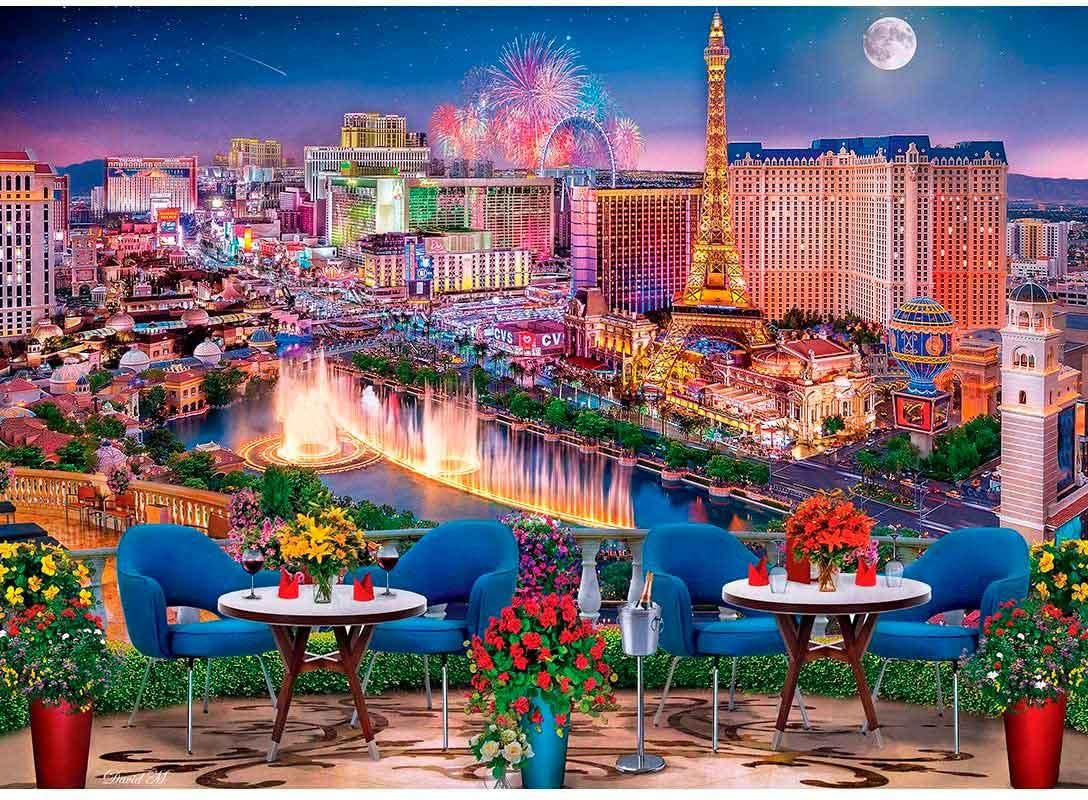 Puzzle MasterPieces Las Vegas de 1000 Piezas