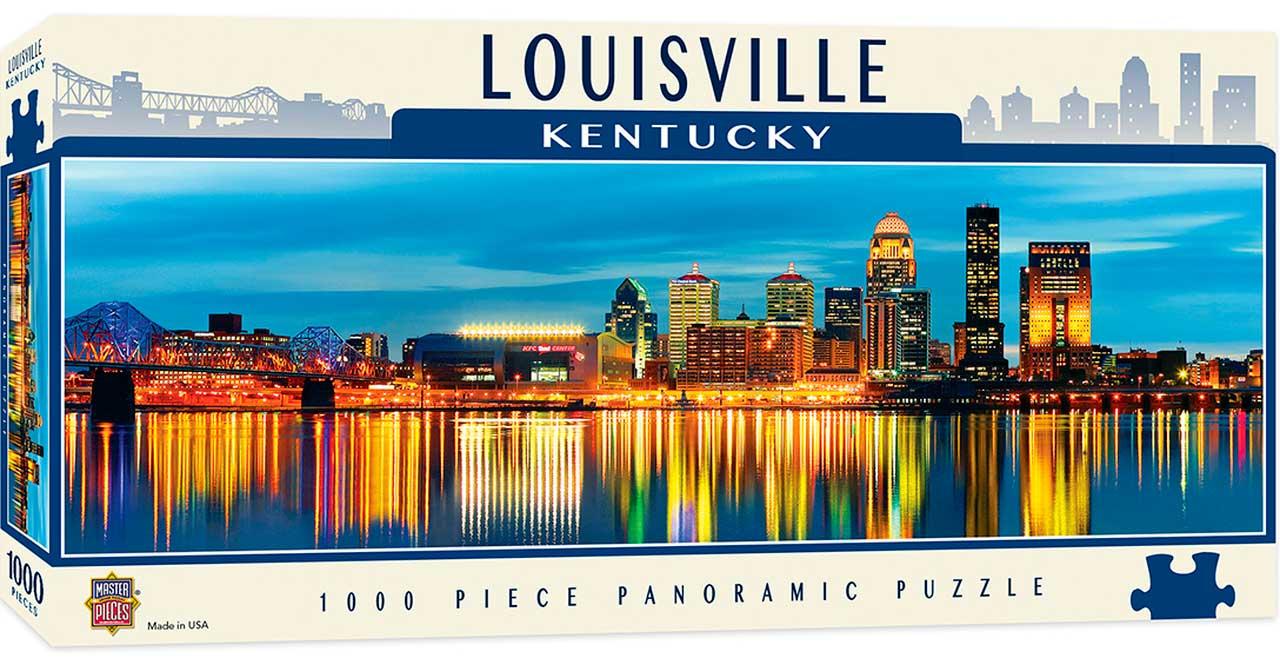Puzzle MasterPieces Louisville, Kentucky de 1000 Piezas