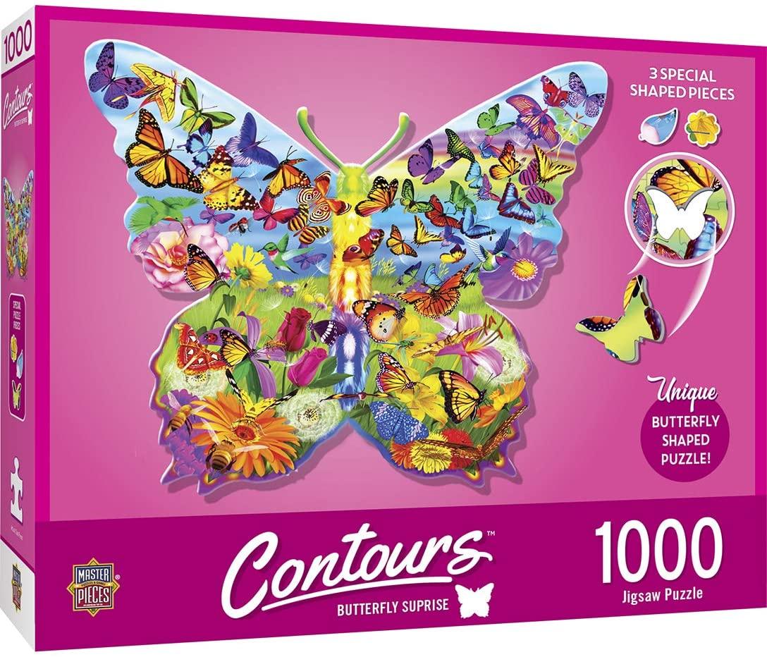 Puzzle MasterPieces Mariposa de 1000 Piezas