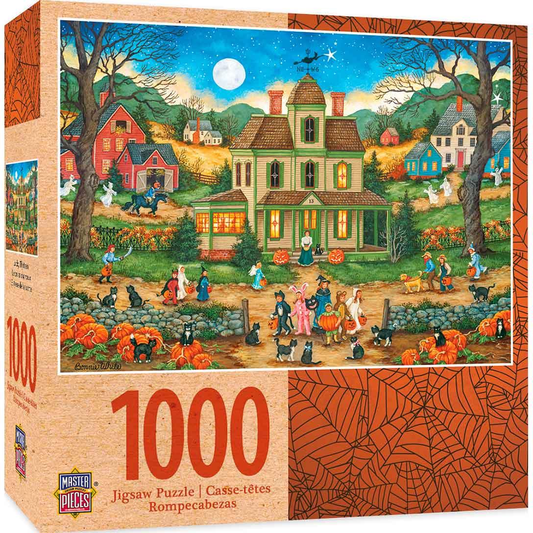 Puzzle MasterPieces Noche de Halloween de 1000 Piezas