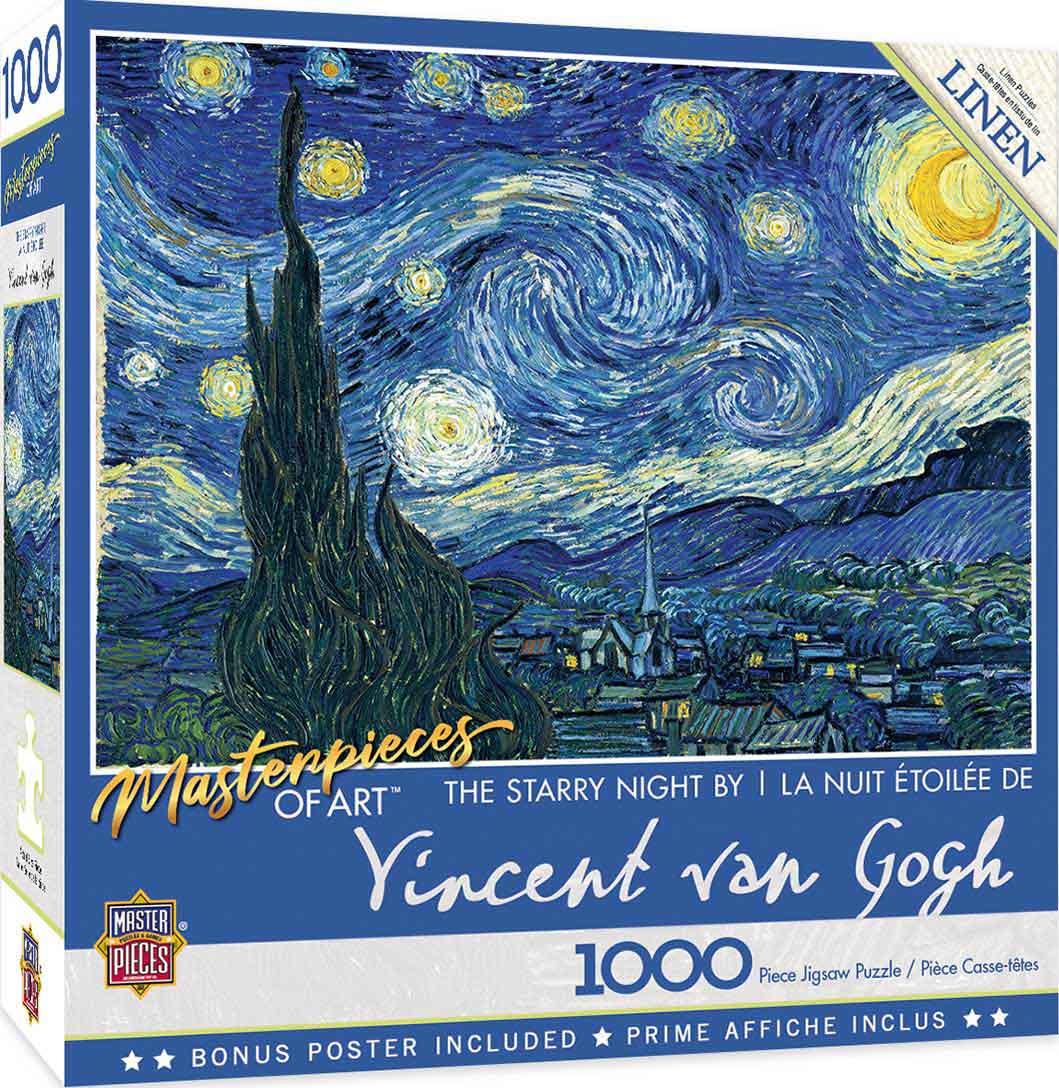 Puzzle MasterPieces Noche Estrellada de 1000 Piezas