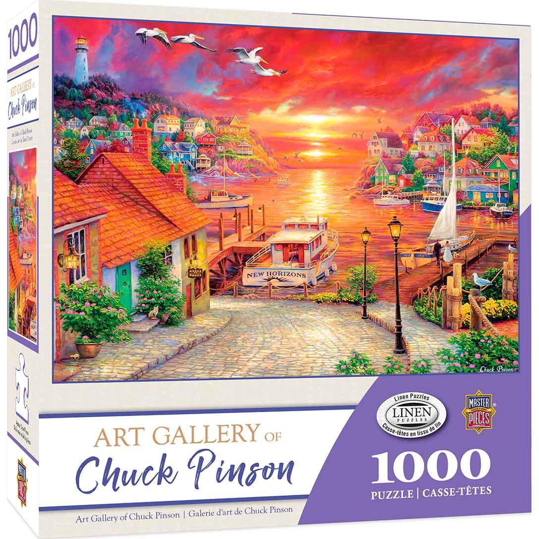 Puzzle MasterPieces Nuevos Horizontes de 1000 Piezas