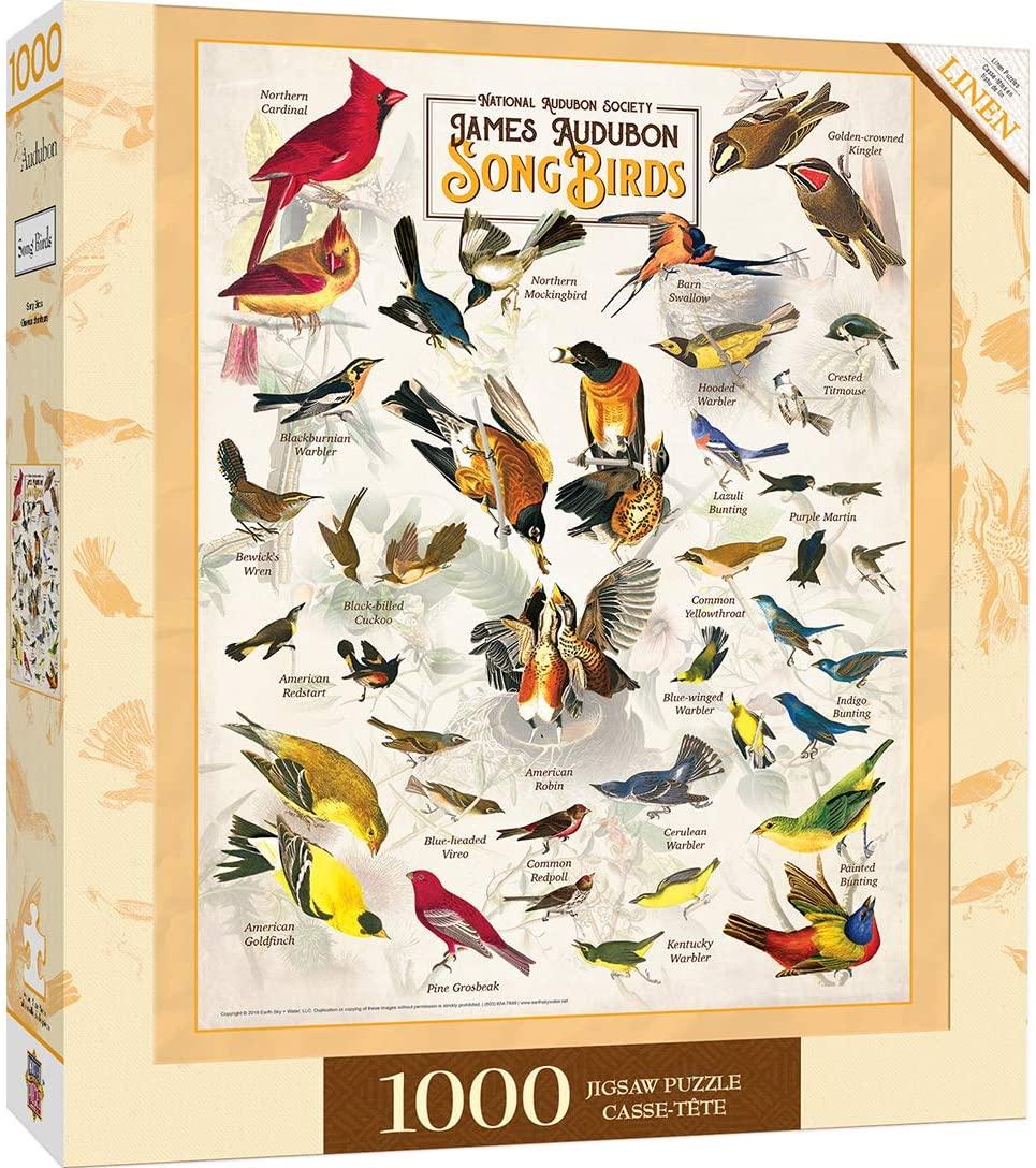 Puzzle MasterPieces Pájaros Cantores de 1000 Piezas