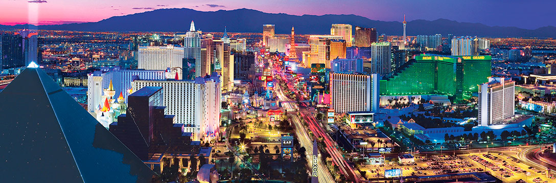 Puzzle MasterPieces Panorámico Las Vegas de 1000 Piezas