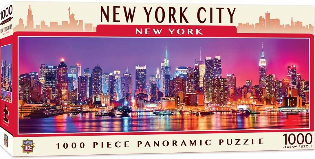 Puzzle MasterPieces Panorámico Nueva York de 1000 Piezas