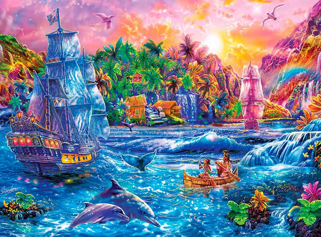 Puzzle MasterPieces Paraíso Encontrado XXL de 300 Piezas