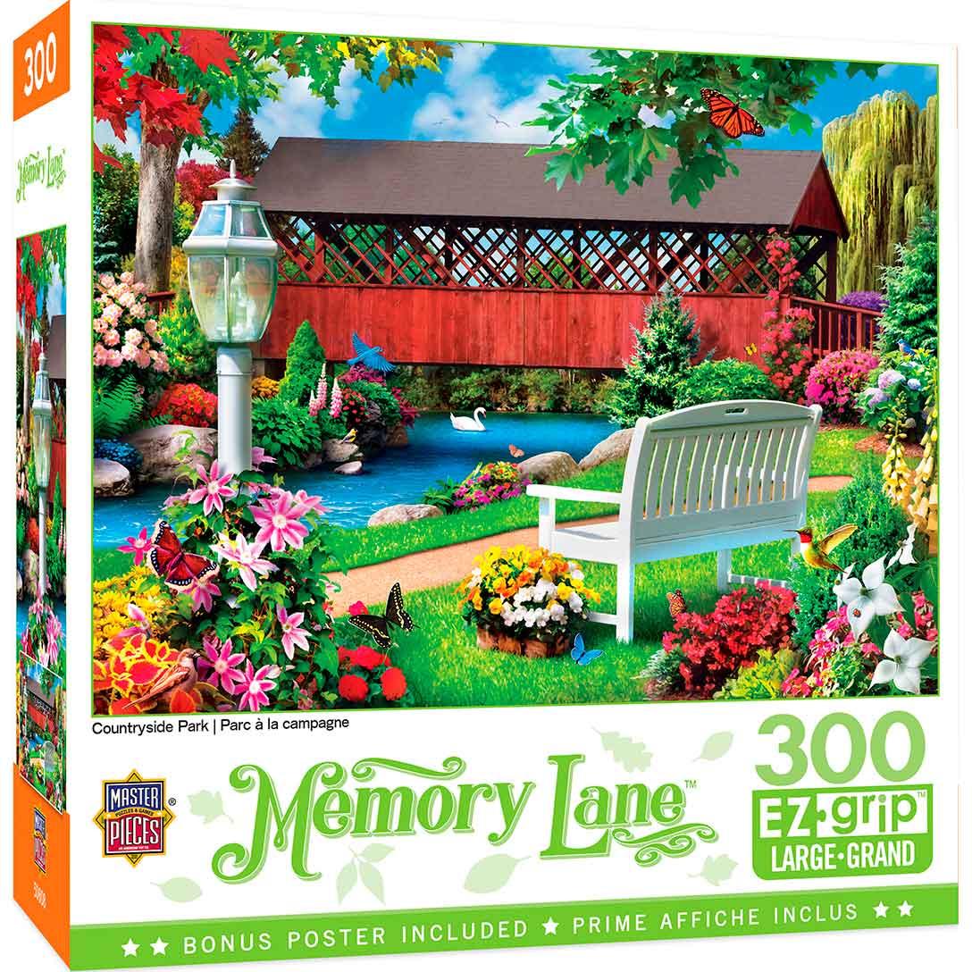Puzzle MasterPieces Parque en el Campo XXL de 300 Piezas