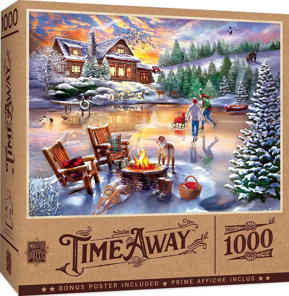 Puzzle MasterPieces Patinaje en Tiempo Libre de 1000 Piezas