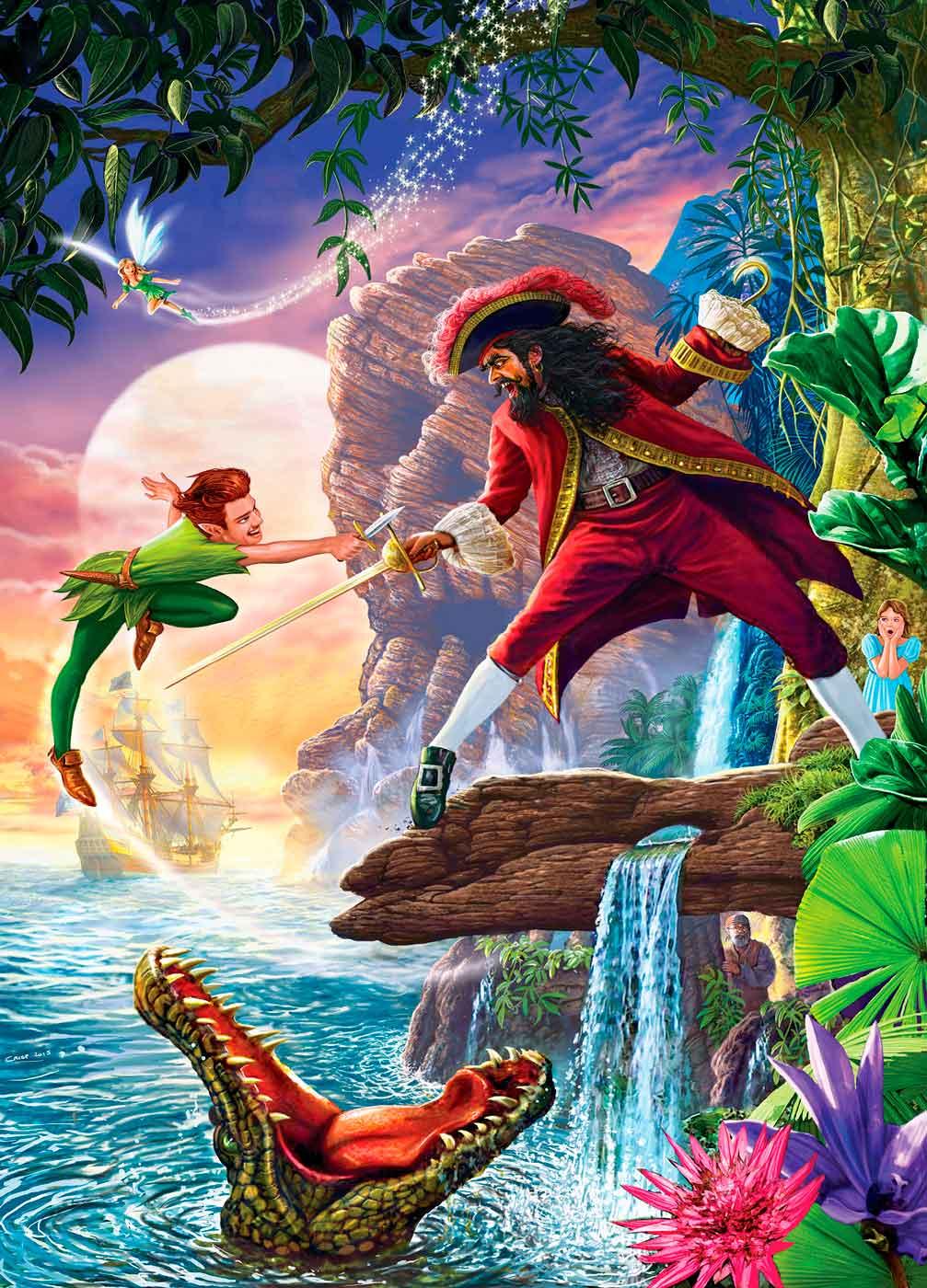 Puzzle MasterPieces Peter Pan de 1000 Piezas