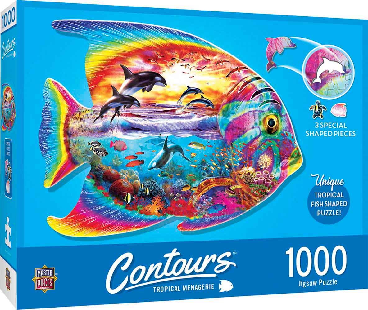 Puzzle MasterPieces Pez Tropical de 1000 Piezas