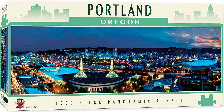 Puzzle MasterPieces Portland, Oregon de 1000 Piezas