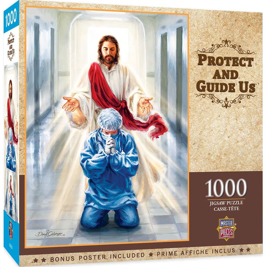 Puzzle MasterPieces Protégenos y Guíanos de 1000 Piezas