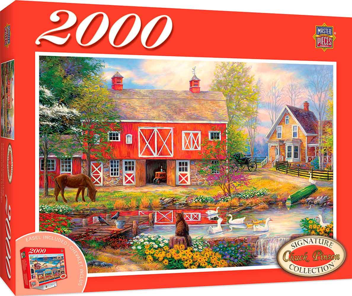 Puzzle MasterPieces Reflexiones Sobre la Vida Campestre de 2000