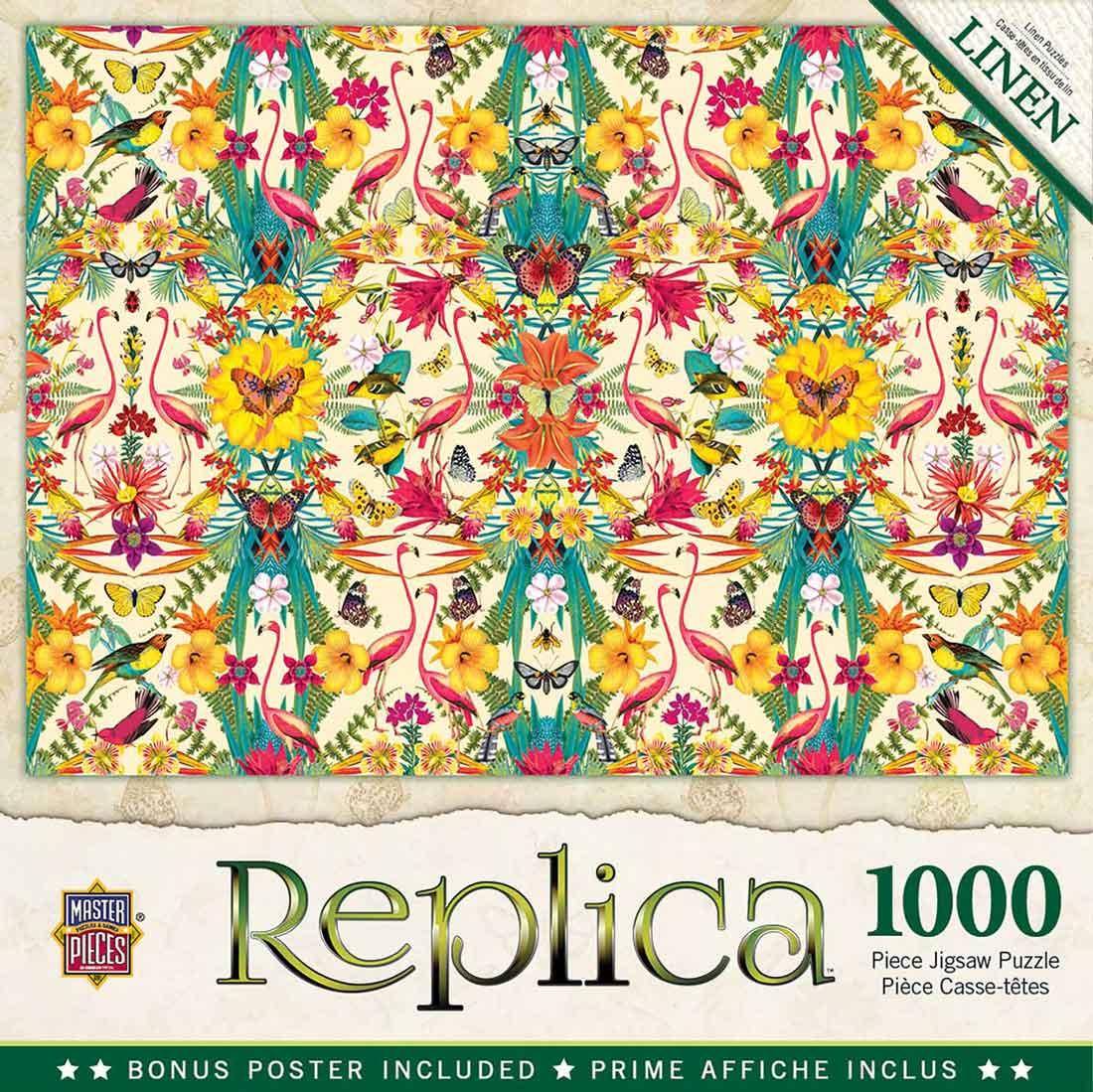 Puzzle MasterPieces Replica Flamencos de 1000 Piezas