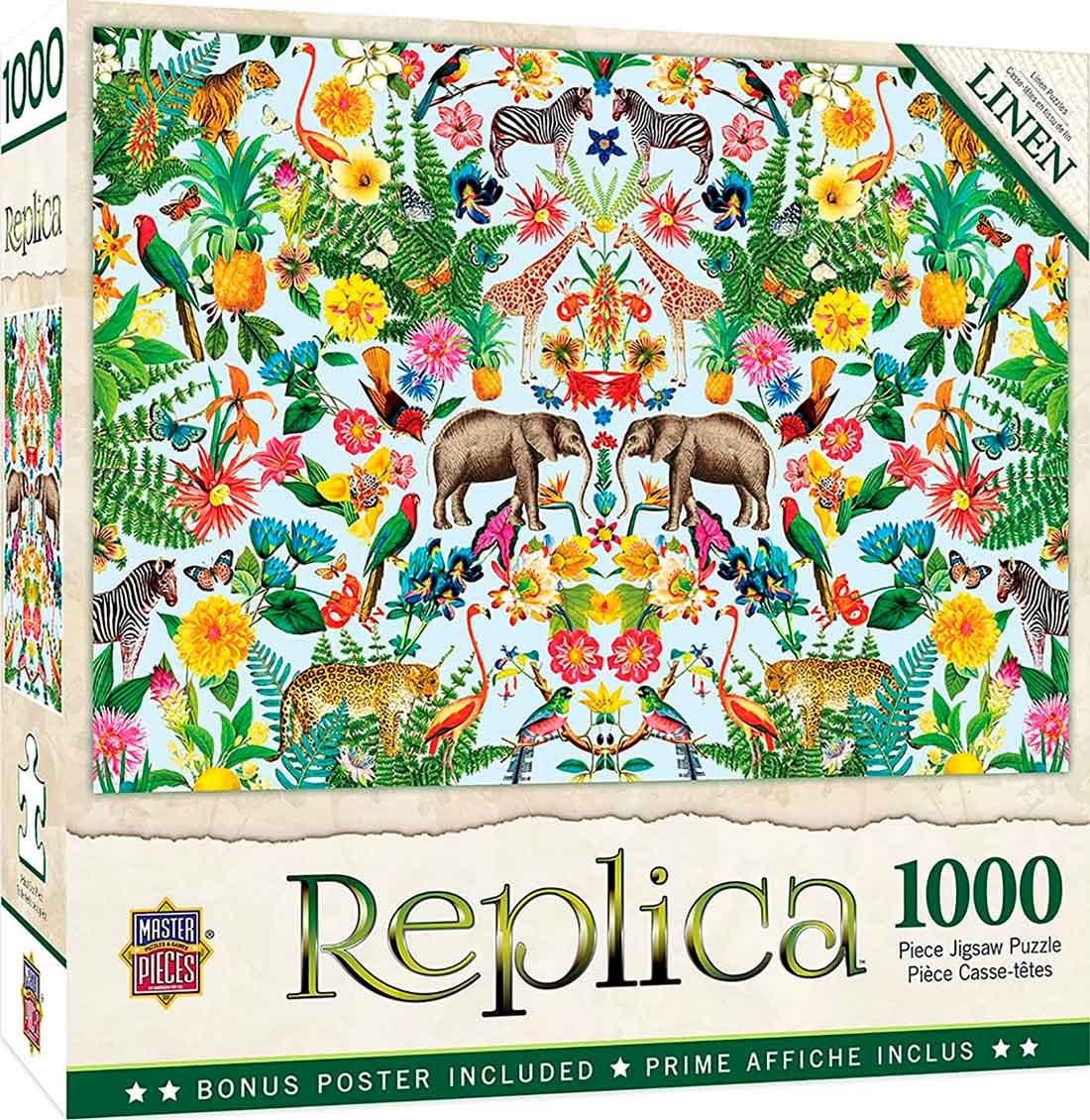 Puzzle MasterPieces Replica Safari de 1000 Piezas