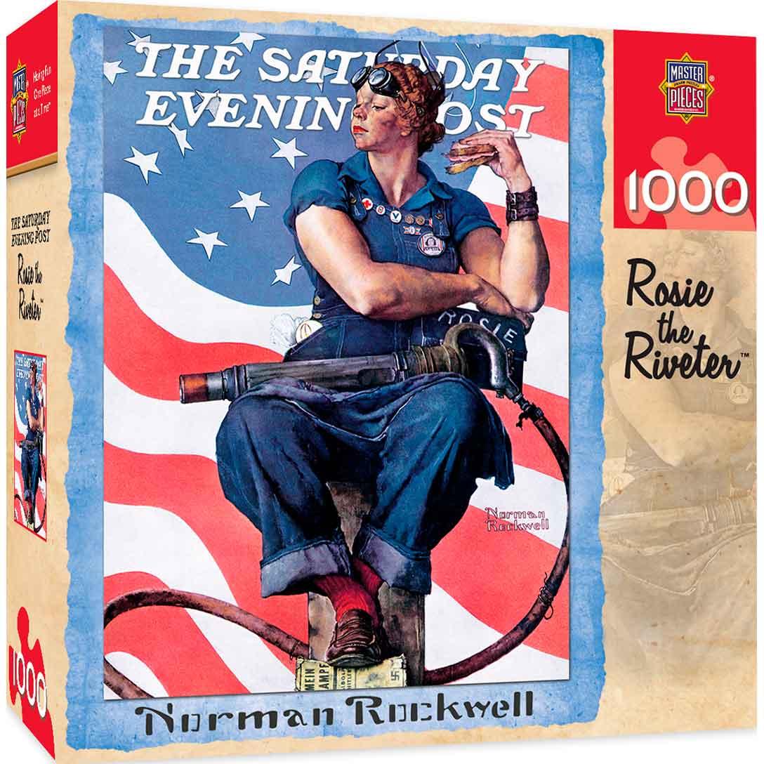Puzzle MasterPieces Rosie La Remachadora de 1000 Piezas