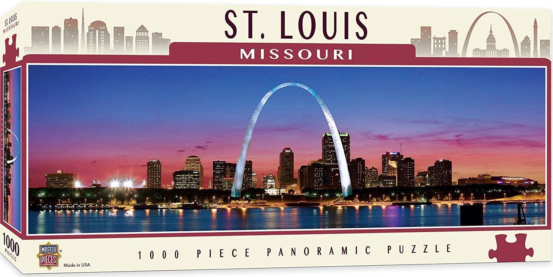 Puzzle MasterPieces Sant Louis, Missouri de 1000 Piezas