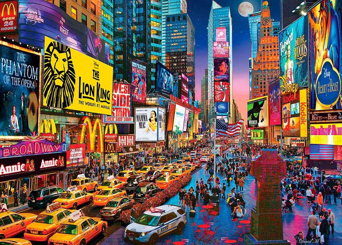 Puzzle MasterPieces Show Time Broadway de 1000 Piezas