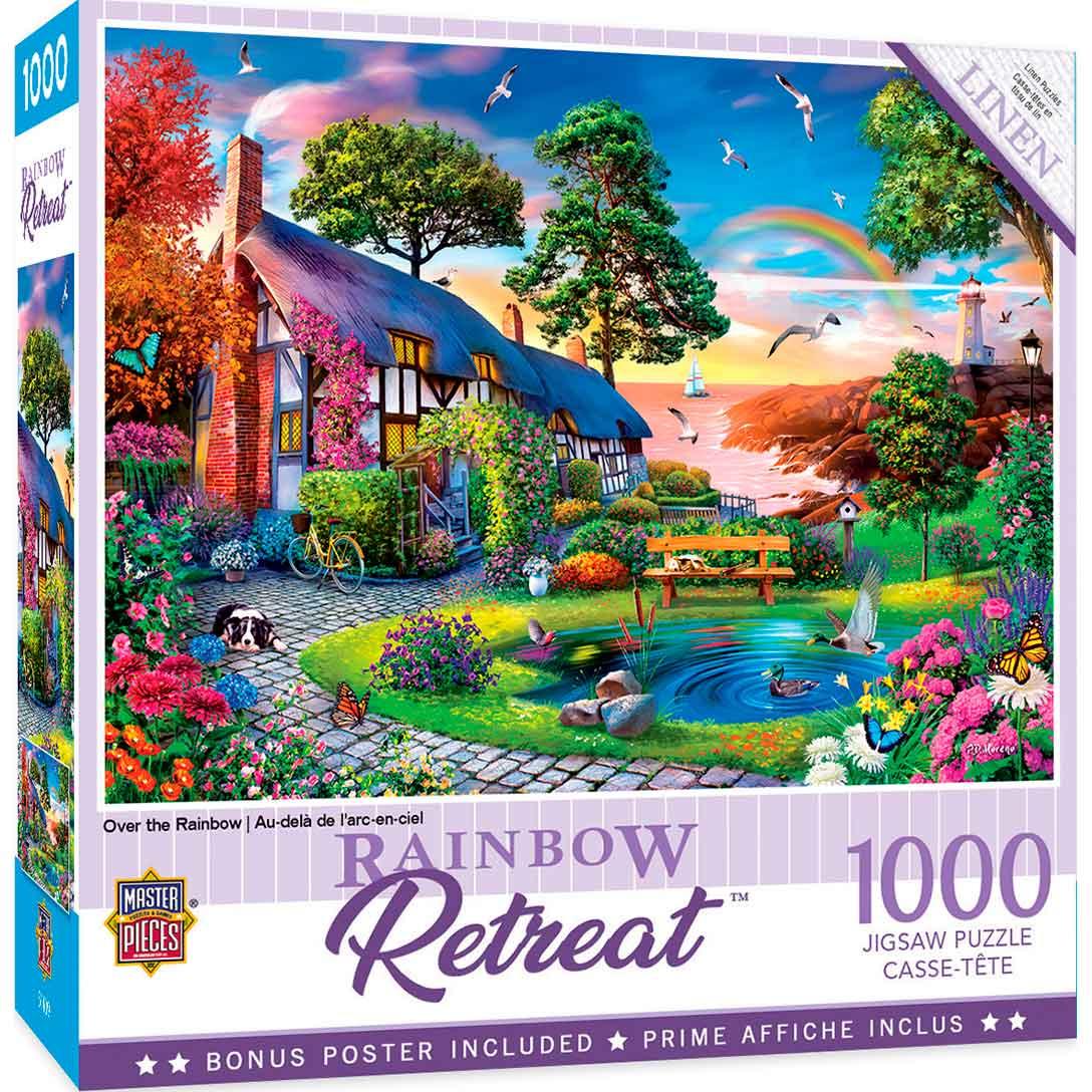 Puzzle MasterPieces Sobre el Arco Iris de 1000 Piezas