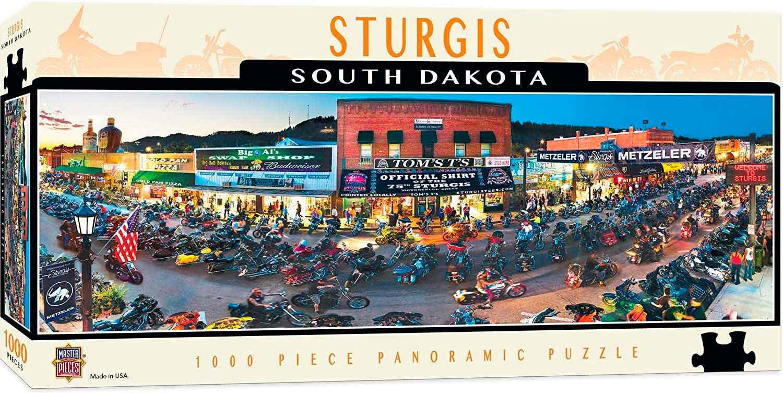 Puzzle MasterPieces Sturgis, South Dakota de 1000 Piezas