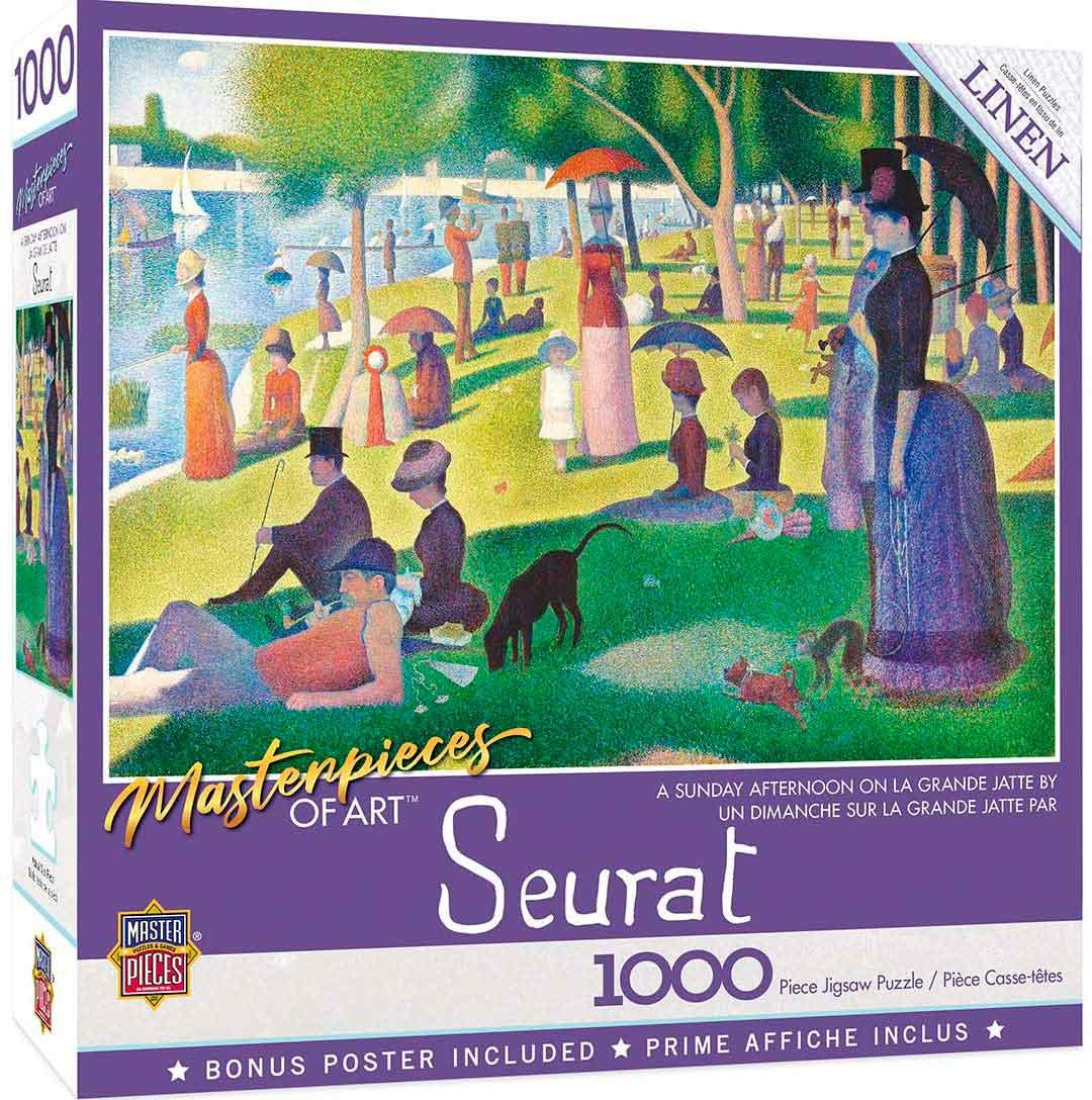 Puzzle MasterPieces Tarde de Domingo en La Grande Jatte de 1000