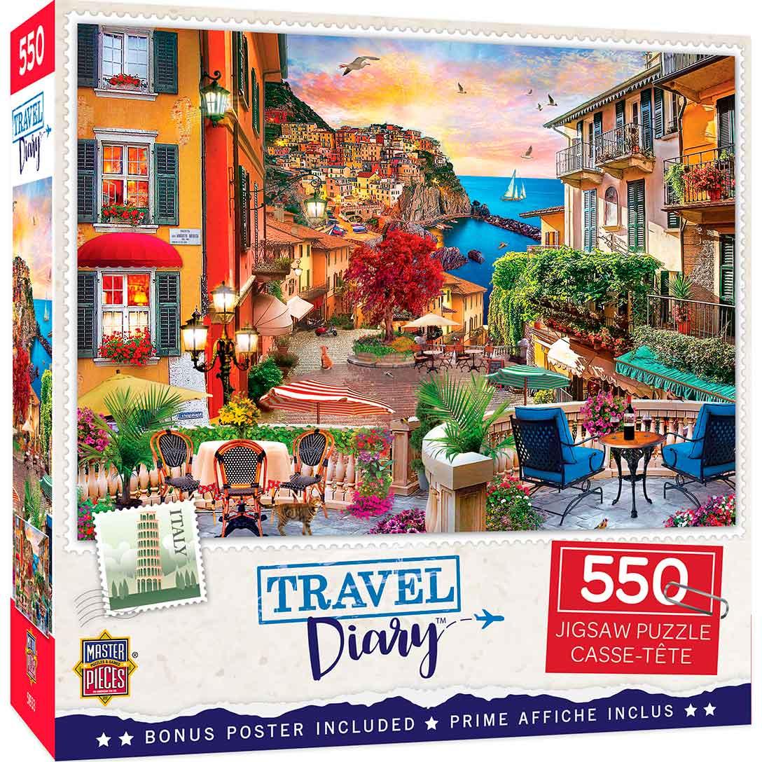 Puzzle MasterPieces Tarde Italiana de 550 Piezas