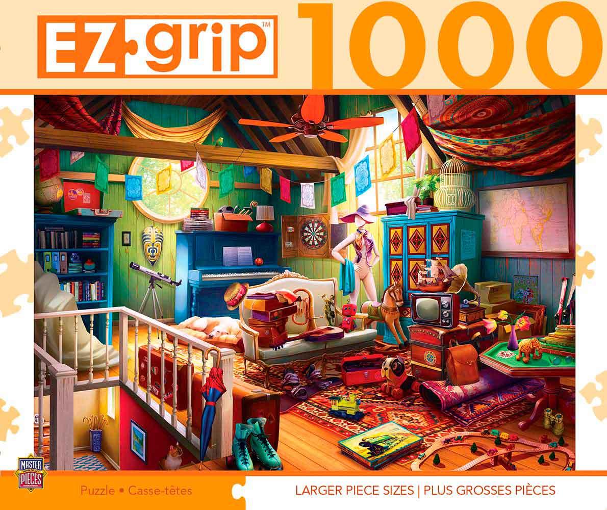Puzzle MasterPieces Tesoros del Ático XXL de 1000 Pzs