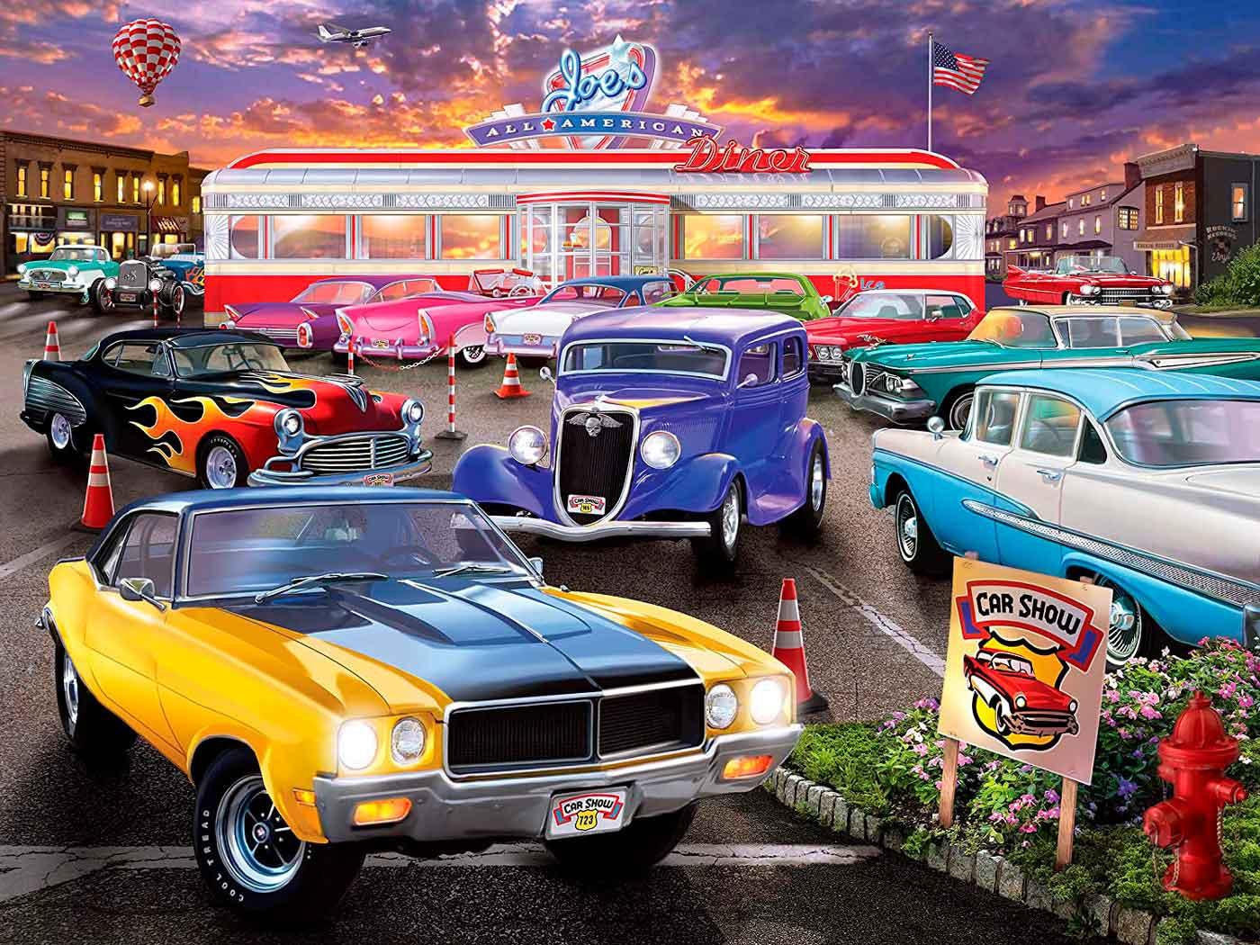 Puzzle MasterPieces The Car Show de 750 Piezas