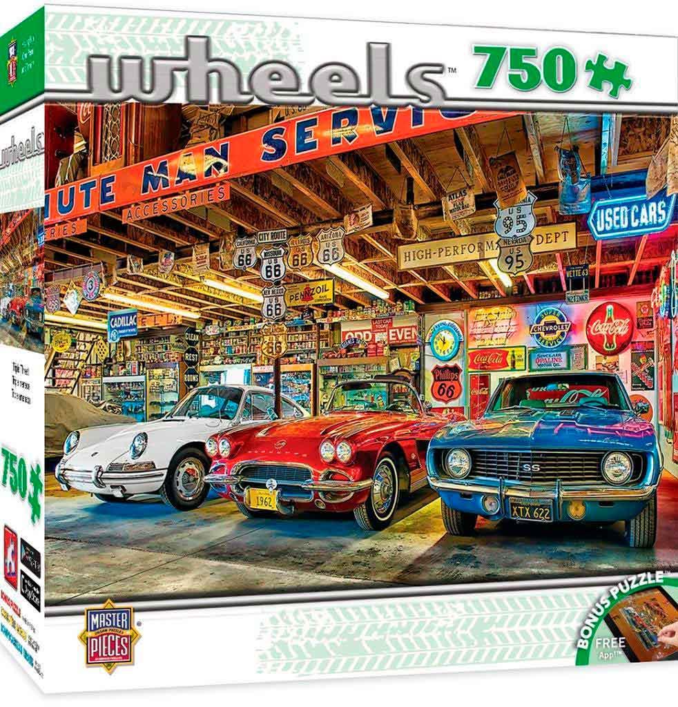 Puzzle MasterPieces Tres Bólidos de 750 Piezas