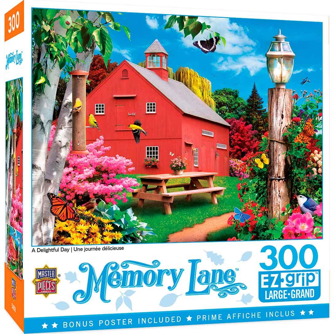 Puzzle MasterPieces Un Día Delicioso XXL de 300 Piezas