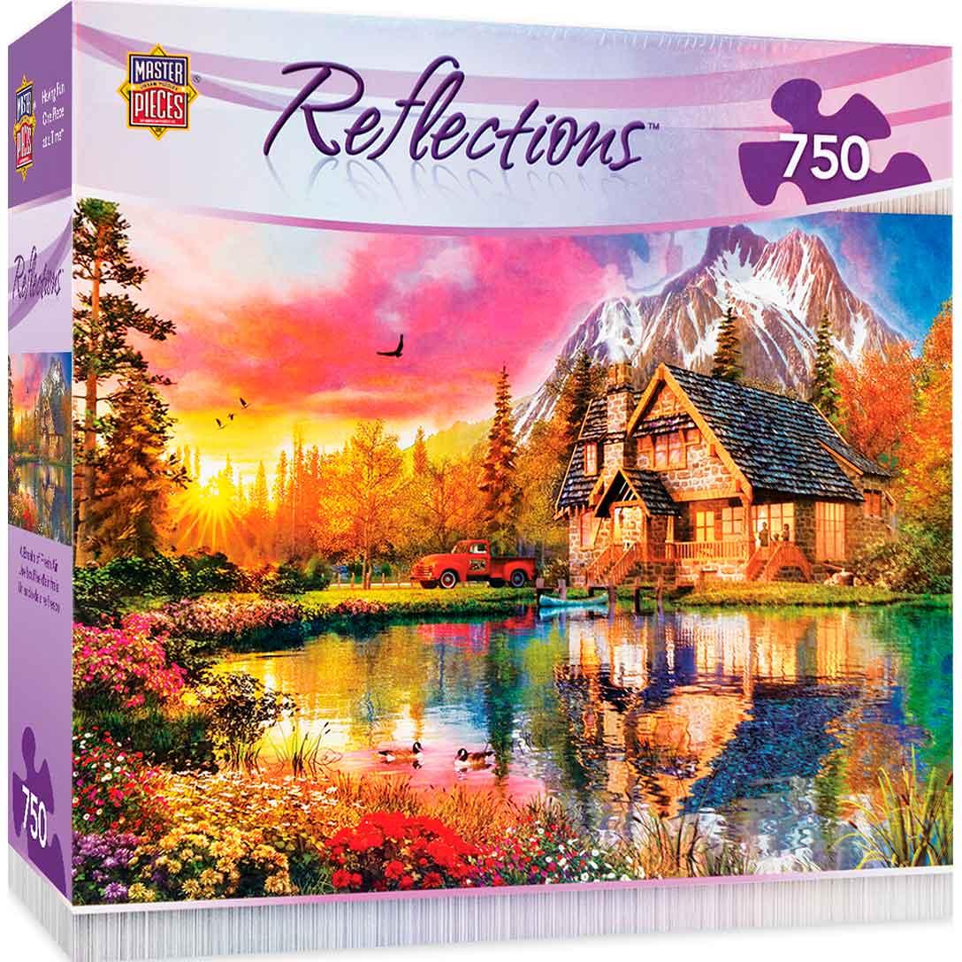 Puzzle MasterPieces Un Soplo de Aire Fresco de 750 Piezas