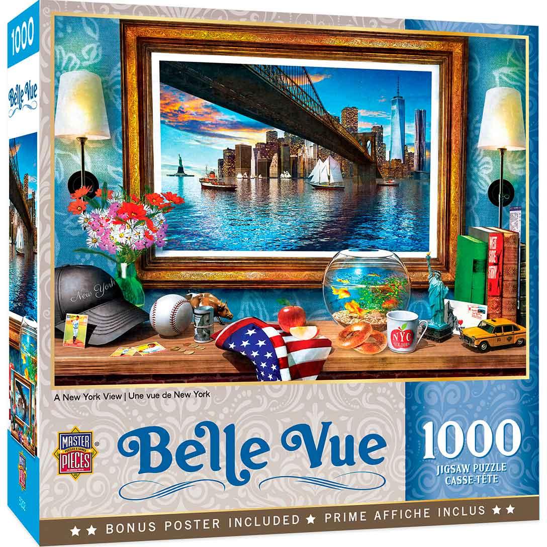Puzzle MasterPieces Una Vista de Nueva York de 1000 Piezas