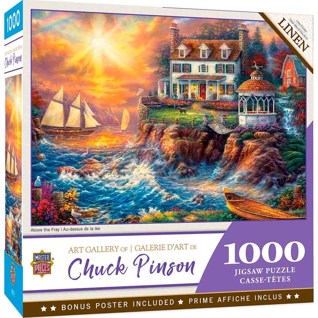 Puzzle MasterPieces Velero en la Cala de 1000 Piezas