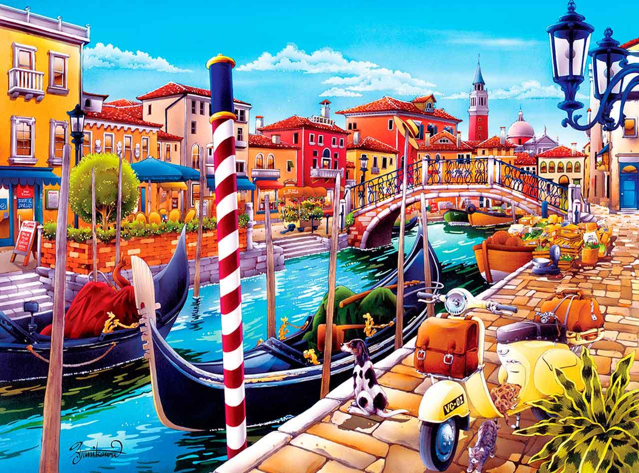Puzzle MasterPieces Venecia de 550 Piezas