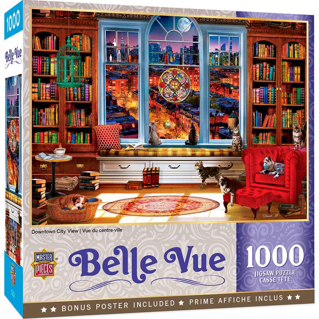 Puzzle MasterPieces Vista del Centro de 1000 Piezas