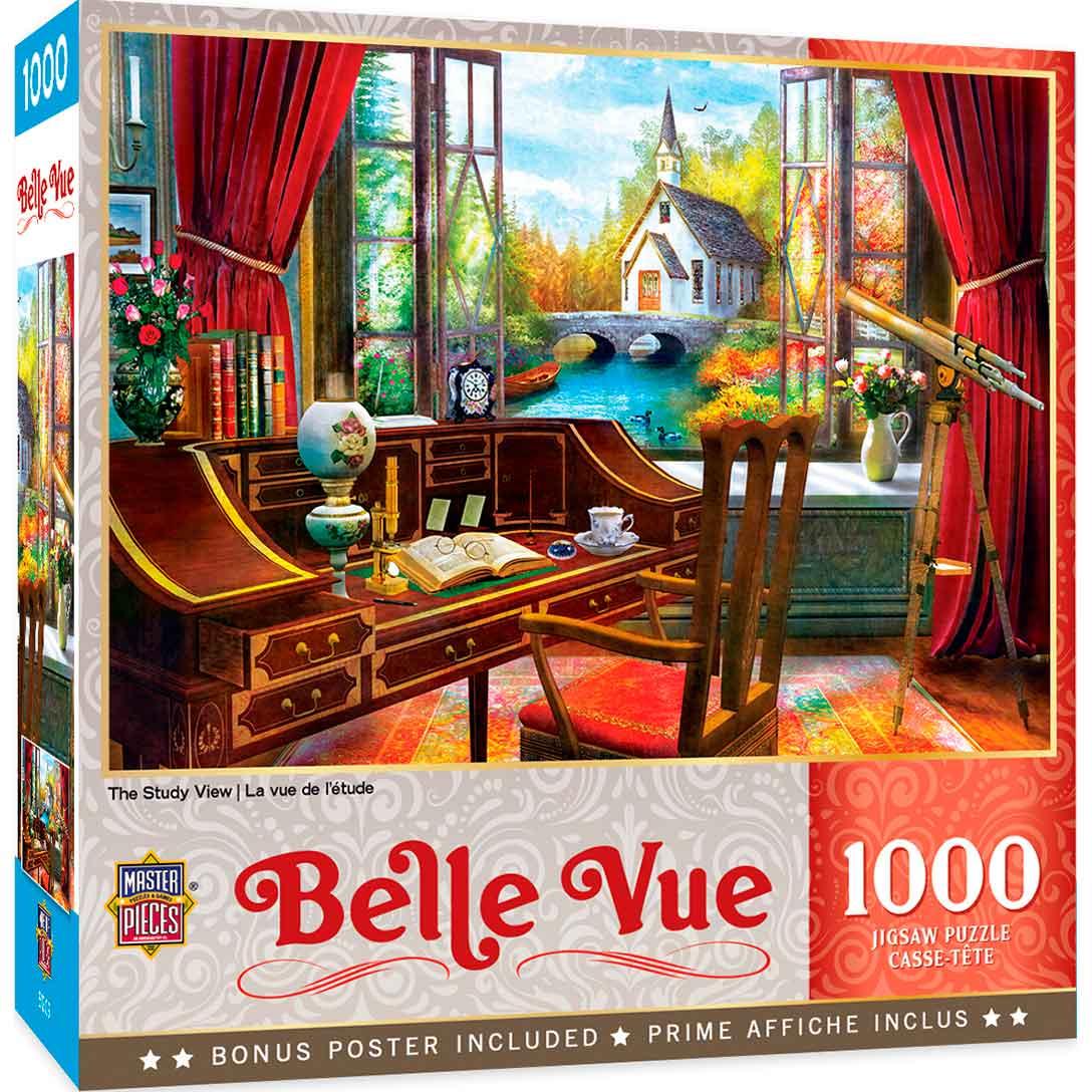 Puzzle MasterPieces Vista desde el Estudio de 1000 Pieza