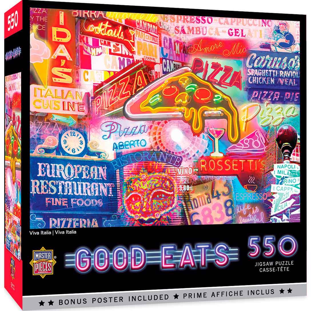 Puzzle MasterPieces Viva Italia de 550 Piezas