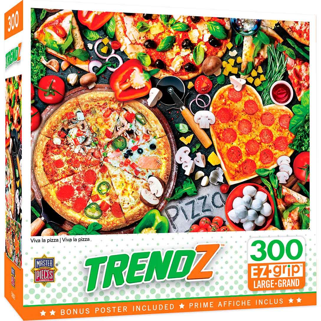 Puzzle MasterPieces Viva La Pizza XXL de 300 Piezas