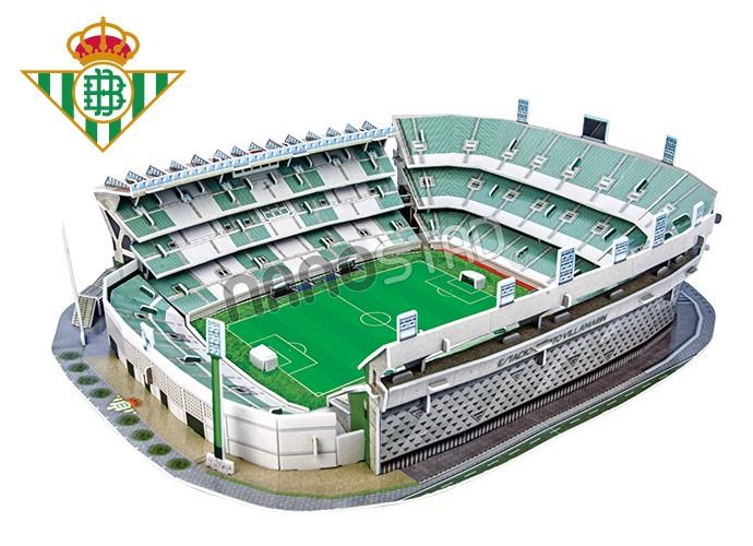 Puzzle Nanostad Estadio Benito Villamarín Real Betis 3D 160