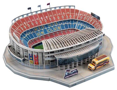 Puzzle Nanostad Estadio Camp Nou, FC Barcelona 3D 100 Piezas